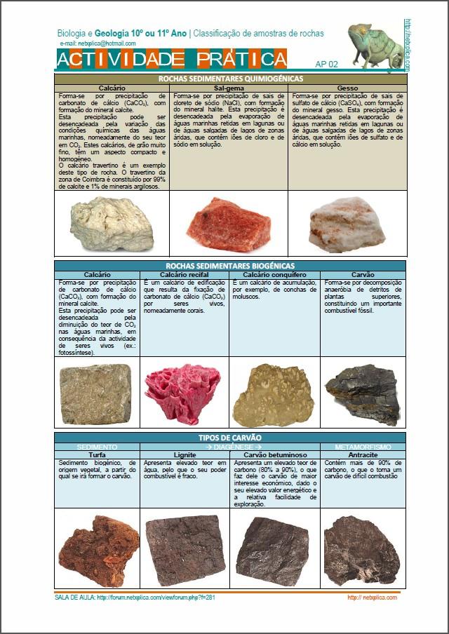 As rochas metamórficas